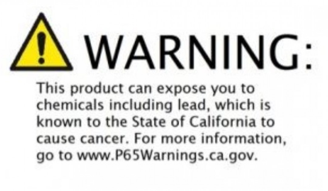 What is the effect of Proposition 65 on businesses?